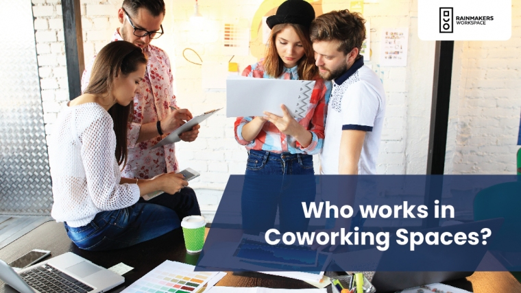 Who works in Coworking Spaces?