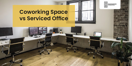 Coworking Space vs Serviced Office