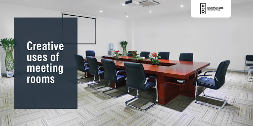 Creative uses of meeting rooms